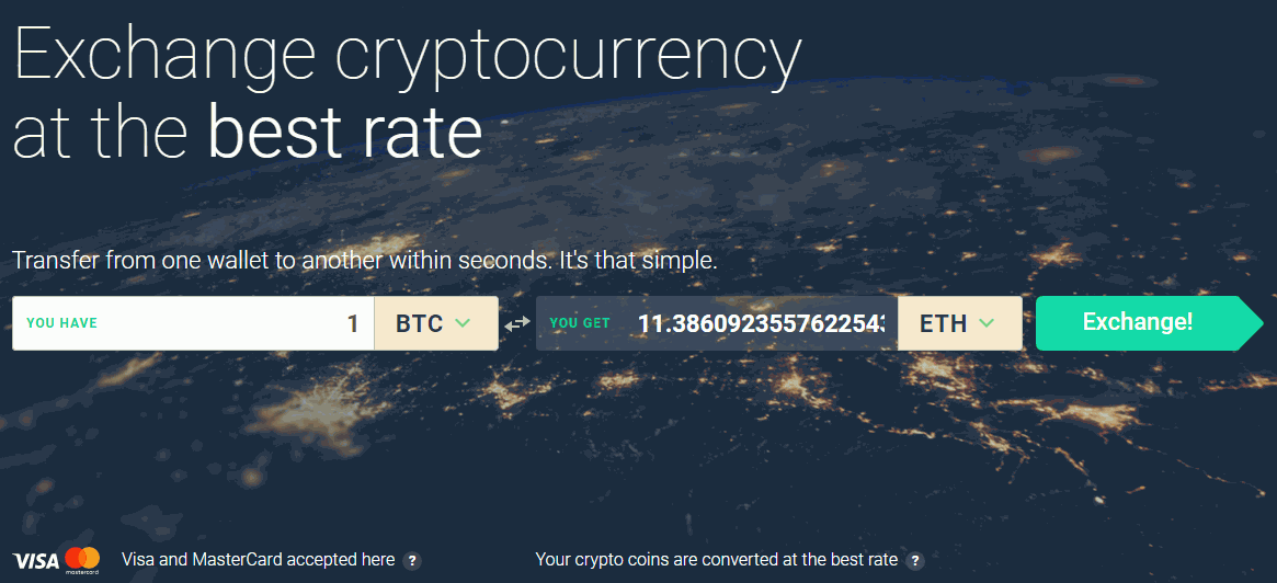 How to Exchange Bitcoin to any Altcoin and Vice Versa