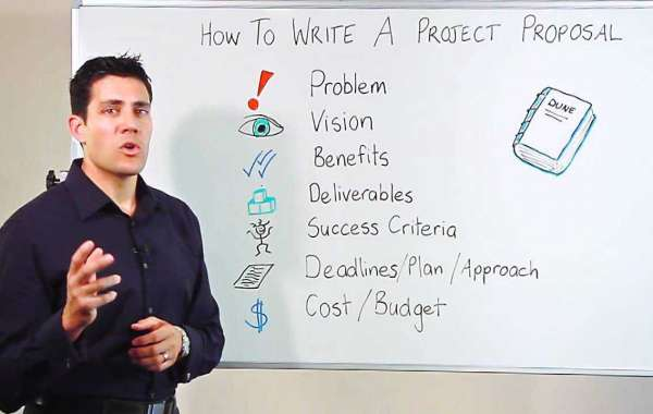 An actual example of a persuasive proposal structure