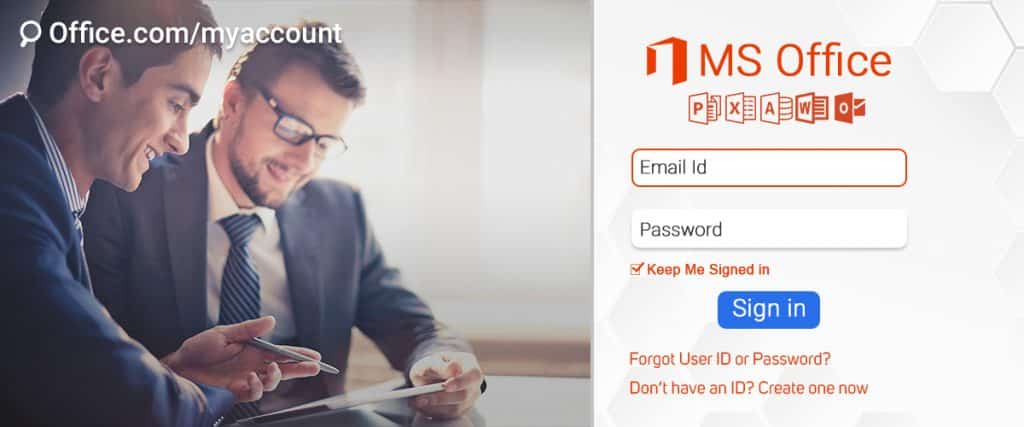 Quick and easy steps to access Office account via office.com/myaccount